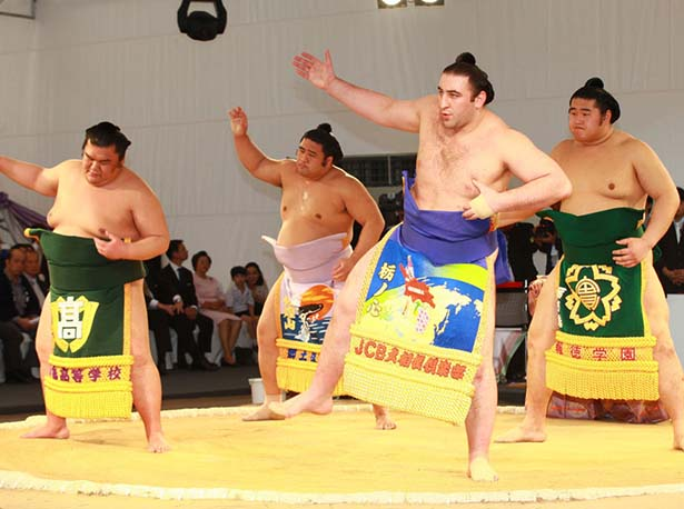 Sumo aRT jaPANS The Fight